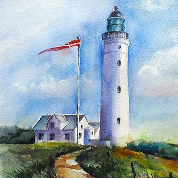 Leuchtturm Hirtshals