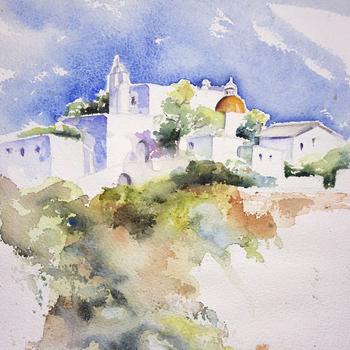 Kirche auf Ibiza