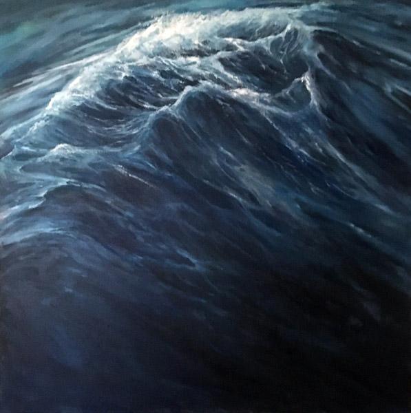 Welle Ölmalerei